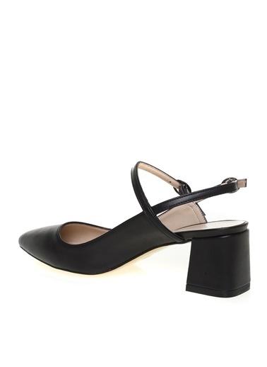 Fabrika Fabrika Kadın Siyah Topuklu Ayakkabı Siyah